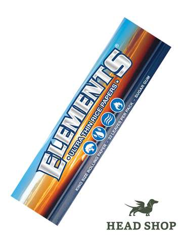 Elements King Size Slim Zigarettenpapier
