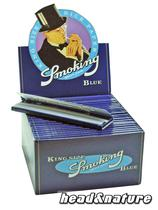 Smoking Blue King Size Papers - 50 x #0