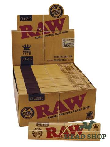 RAW Papers Kingsize Slim - 50 x