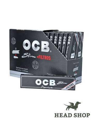 OCB Premium Slim mit Filter-Tips - 32 x