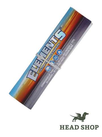 Elements King Size Slim Connoisseur Papers mit Filtertips