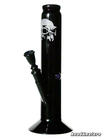 Black Art Glasbong Skull 31cm