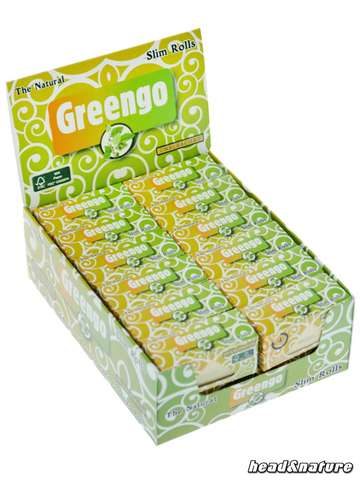 Greengo Rolls Slim - 24 x